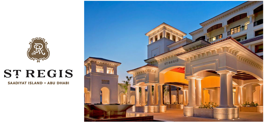 St. Regis Hotel, Saadiyat Island, Abu dhabi. Now powered by Amadeus HotSOS Rex.